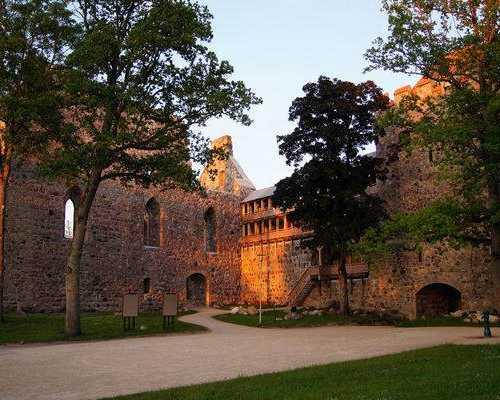 Сигулдский замок ливонского ордена