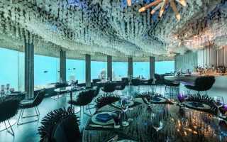 В Норвегии откроется подводный ресторан