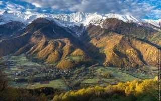 Svanetija – kalnu dailes zeme